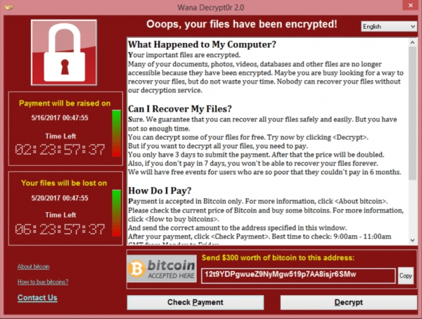 Tips/conceils: WannaCry Ransomeware
